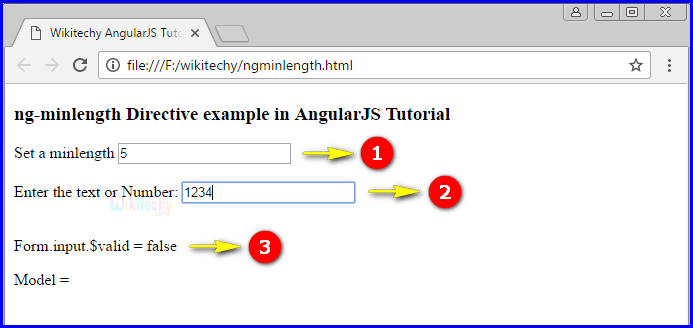 Sample Output3 for AngularJS ngminlength