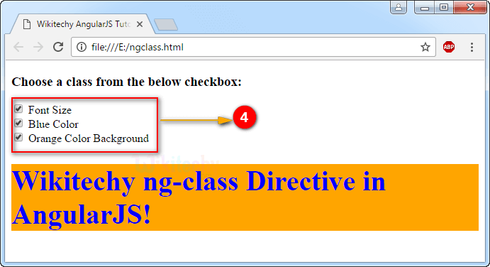 angularjs ngclass