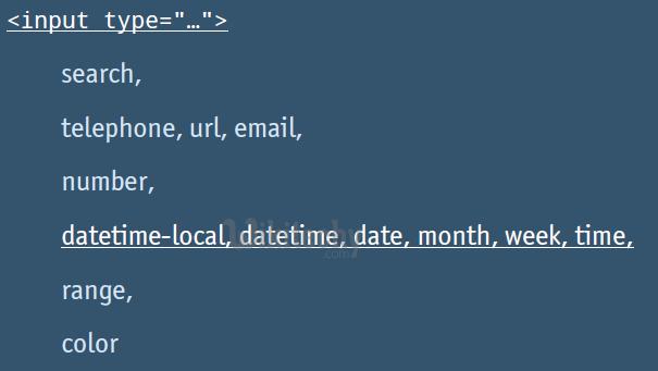 html tutorial -  lerne html - html css - css html -  css - javascript - ajax -  ajax codein  - html - html5 - Semantik: neue Elemente - html Input Elemente   - html style  - html seite -  HTML Quelltext - Webseite