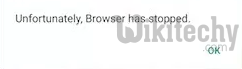 browser has stooped