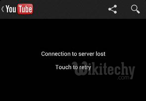 connect to server lost