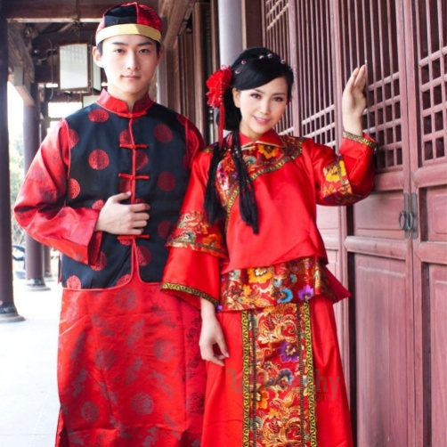 Traditional: Interview Outfit Chinese