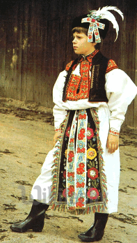 slovak folk costume