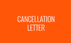 Cancellation Letter