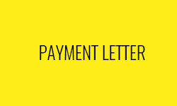 Payment Letter