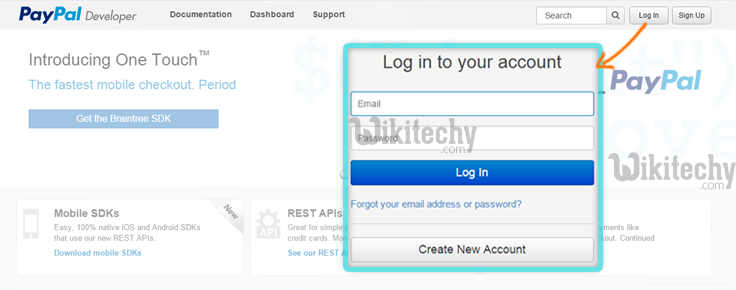 developers-login-page
