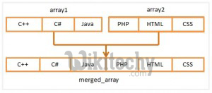merge array in php