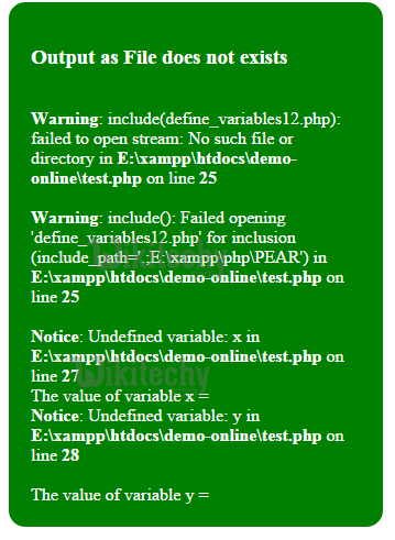 php-include-warning