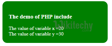 php-include