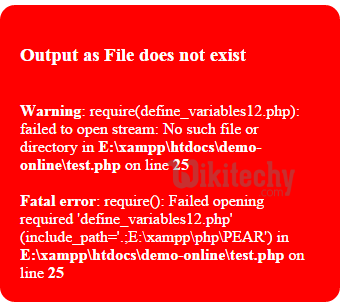 php-require-fatal-error
