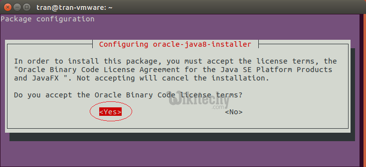 configure oracle installer