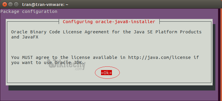 configure oracle