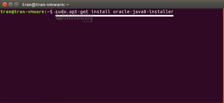 vmware install oracle