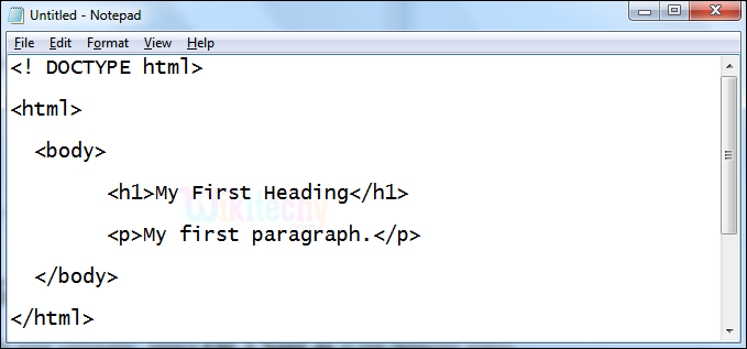 programming in notepad