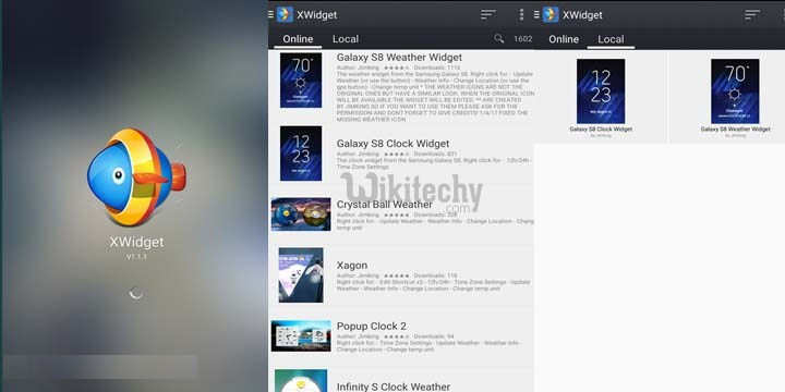 Download Samsung Galaxy S8 Stock Wallpapers Leaked: Download Samsung Galaxy S8 Weather App And Clock Widget