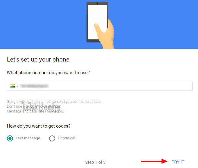how to make google enter punctuation