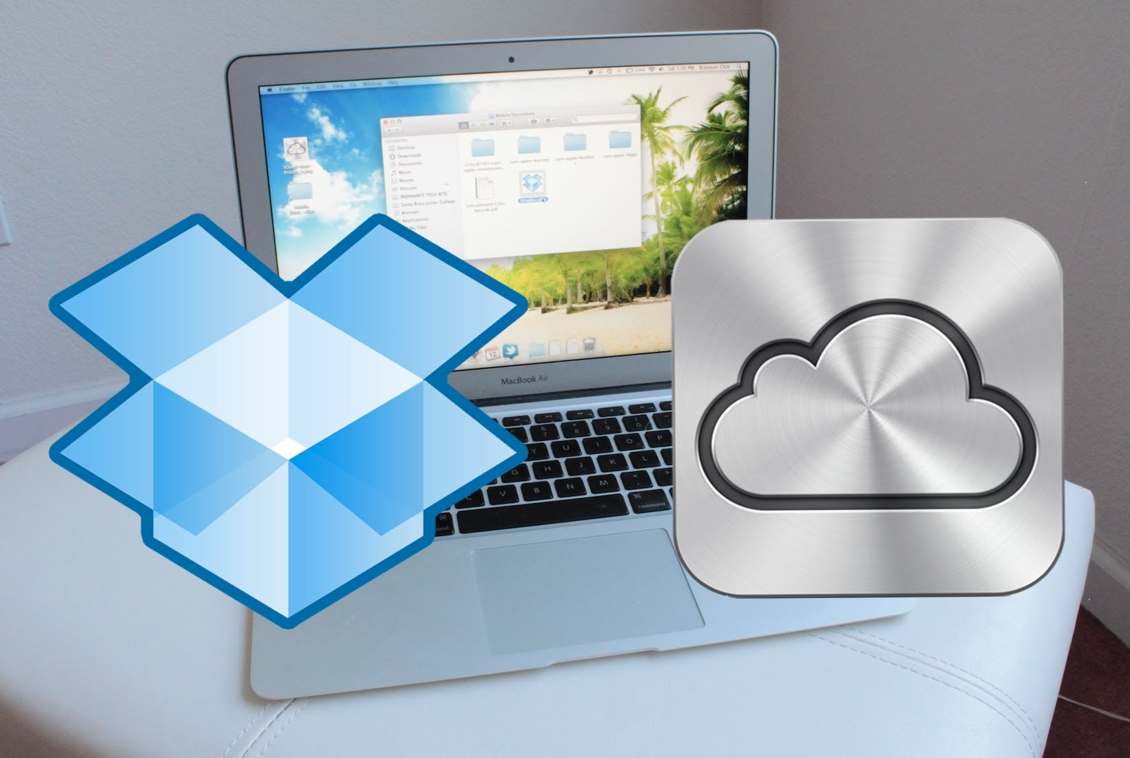 How to get backed up files from icloud
