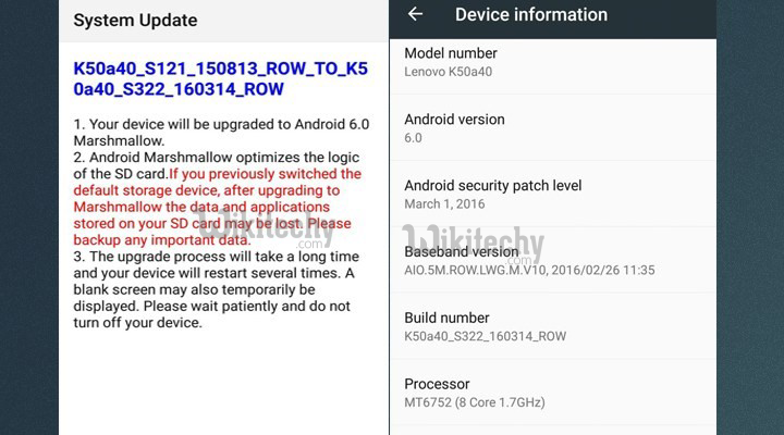 How to Update Lenovo K3 Note to Marshmallow Manually - Android