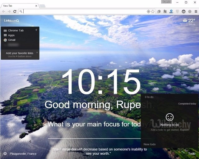 10 Cool Extensions to Customize New Tab in Chrome