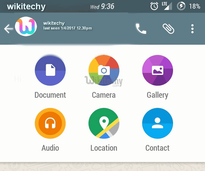 Whatsapp for Android gets Document Sharing Feature