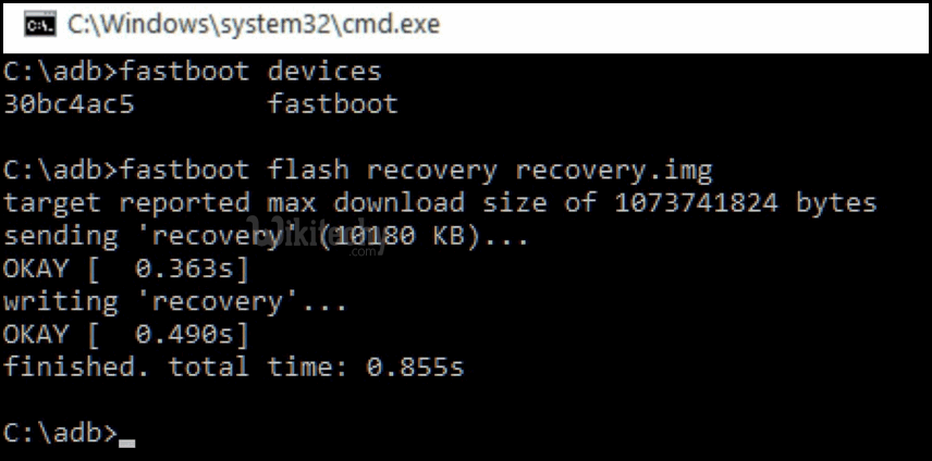 fast boot flash