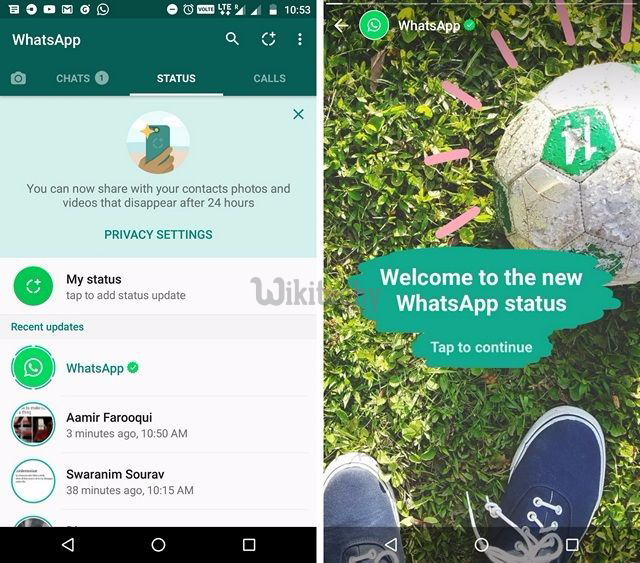 How To Enable Whatsapps New Status Feature On Android