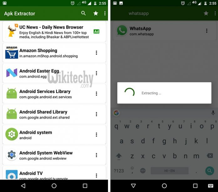 How to Extract APK File of Android App Without Root - Mobile