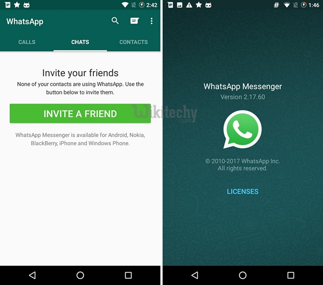 How To Rollback To Old Whatsapp Status On Android Mobile