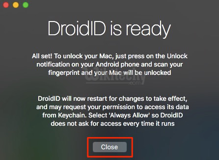 How to Unlock Mac with Android Device's Fingerprint Scanner