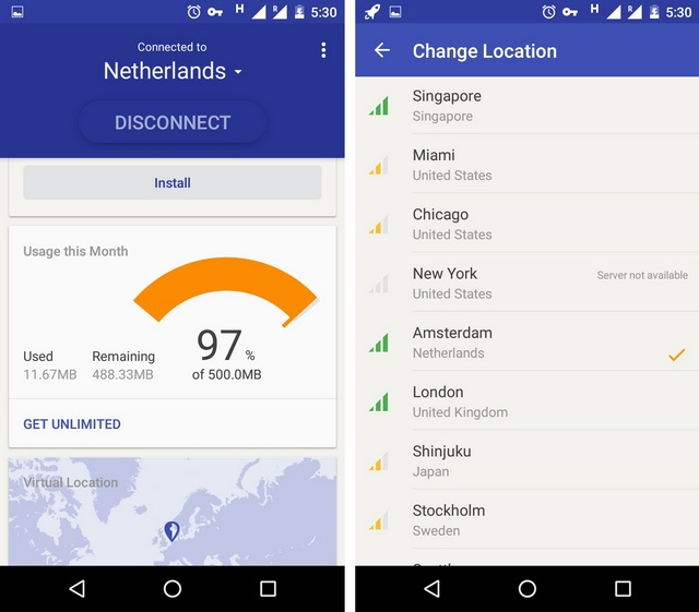 Rocket VPN: A Simple VPN for Android Without Any Complications