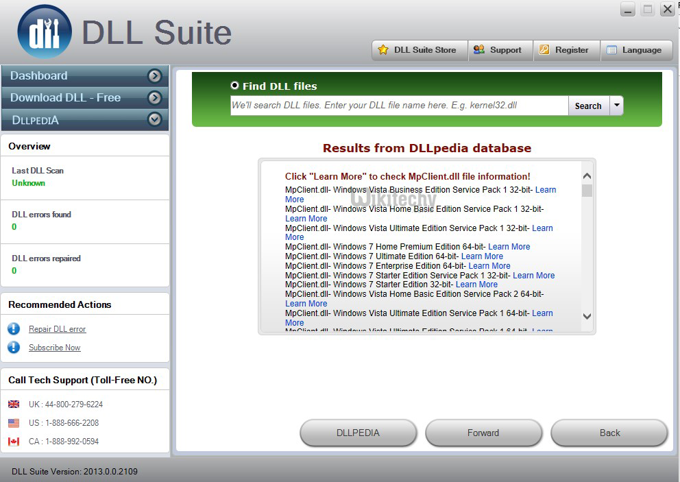 download dll fixer free trial