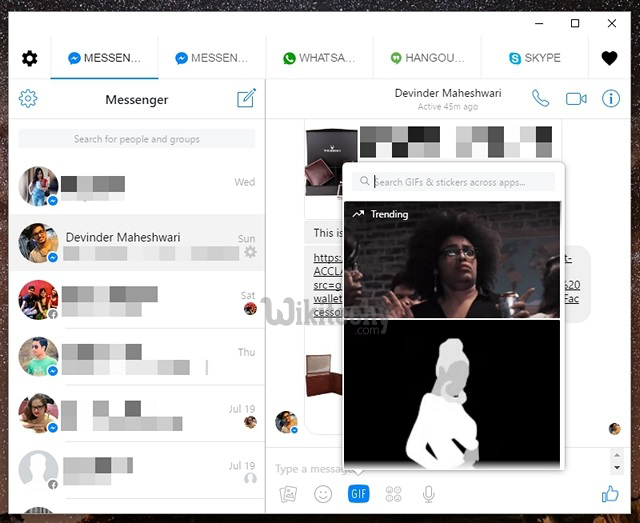 How to Use WhatsApp, Facebook Messenger and Other Chat Apps