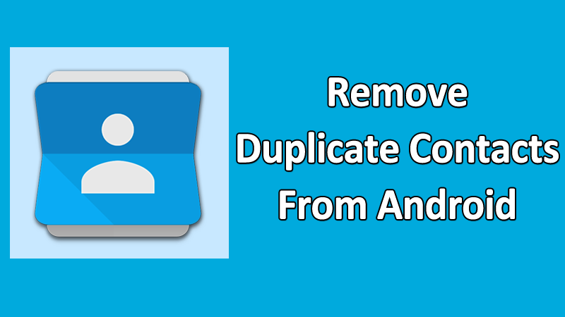 Duplicate-contacts