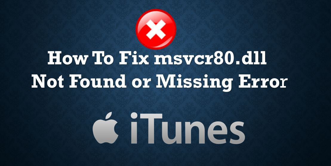 How to fix msvcr80. Dll is missing error [latest] internet.