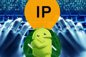 Hide IP Address in Android