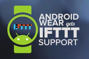 IFTTT Recipes for Android Wear