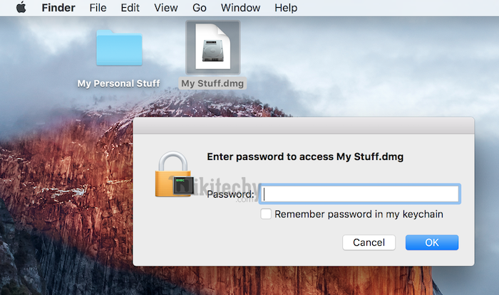 How To Lock and Password Protect Files, Folders On Mac