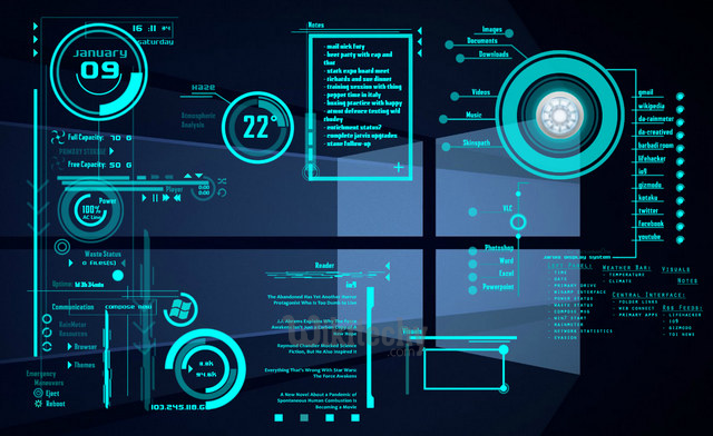 10 Gorgeous Rainmeter Skins - PC - Learn in 30 Sec from