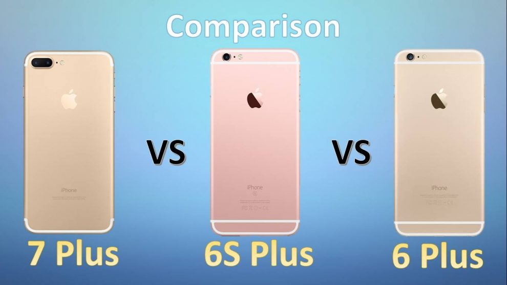 designer fashion c4709 484e3 Compare iPhone 7 with iPhone 6, 6 Plus, 6s - Mobile - Learn in 30 ...
