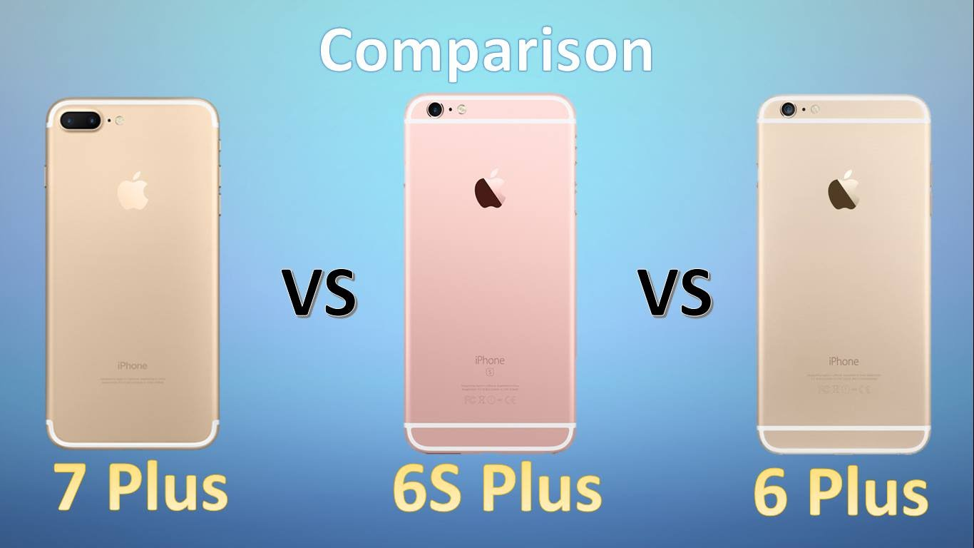 designer fashion 41f7c cd2c0 Compare iPhone 7 with iPhone 6, 6 Plus, 6s - Mobile - Learn in 30 ...