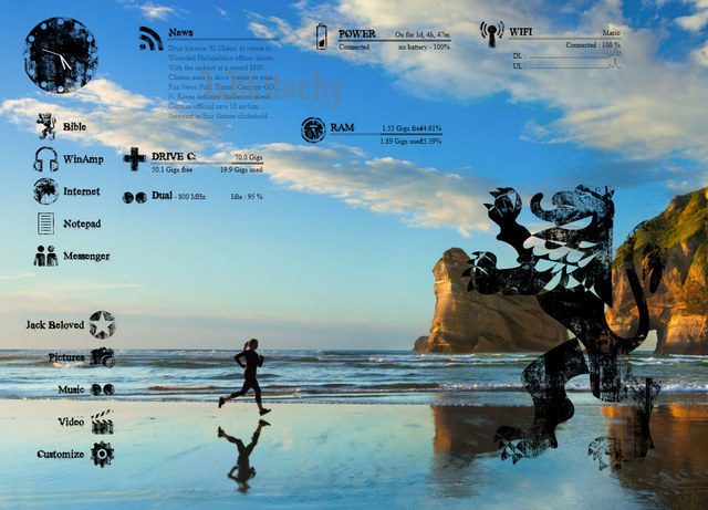 10 Gorgeous Rainmeter Skins - PC - Learn in 30 Sec from Microsoft