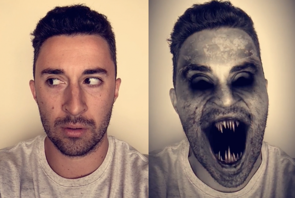 How to Face Swap on Snapchat With Lenses - Mobile - Learn in 30 Sec