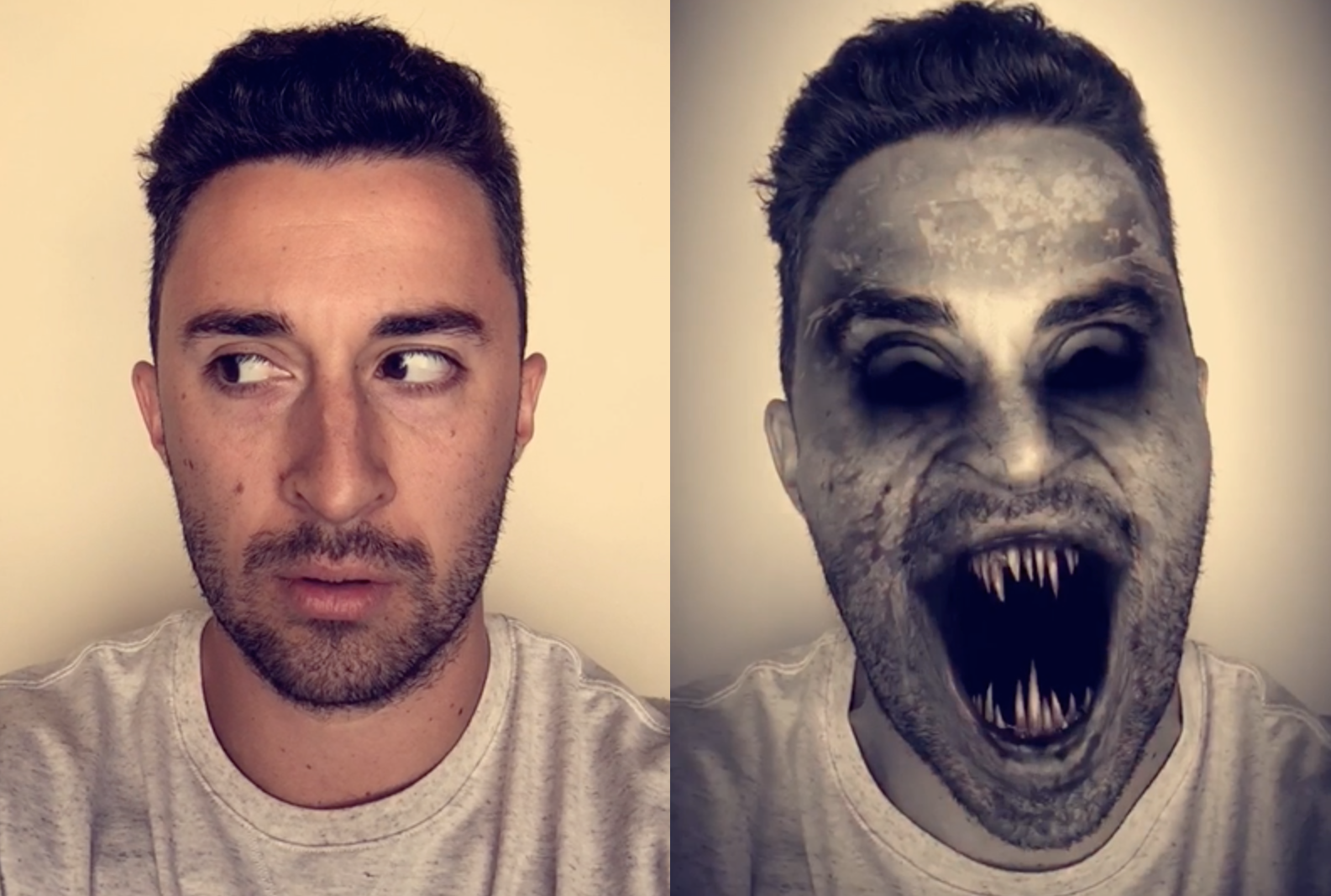how to face swap on snapchat with lenses - mobile