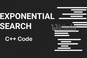 Exponential Search - C++