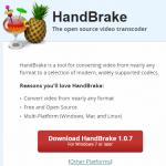 handbrake-homepage