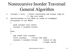 non-recurssion