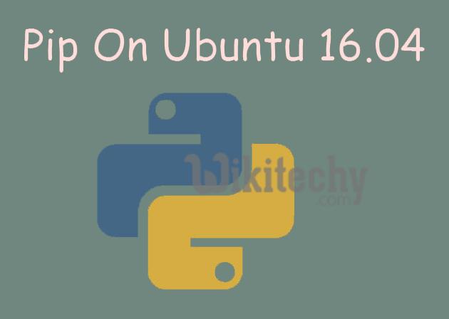 pip-ubuntu-16-04