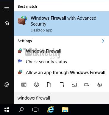 windows-firewall, security for remote desktop