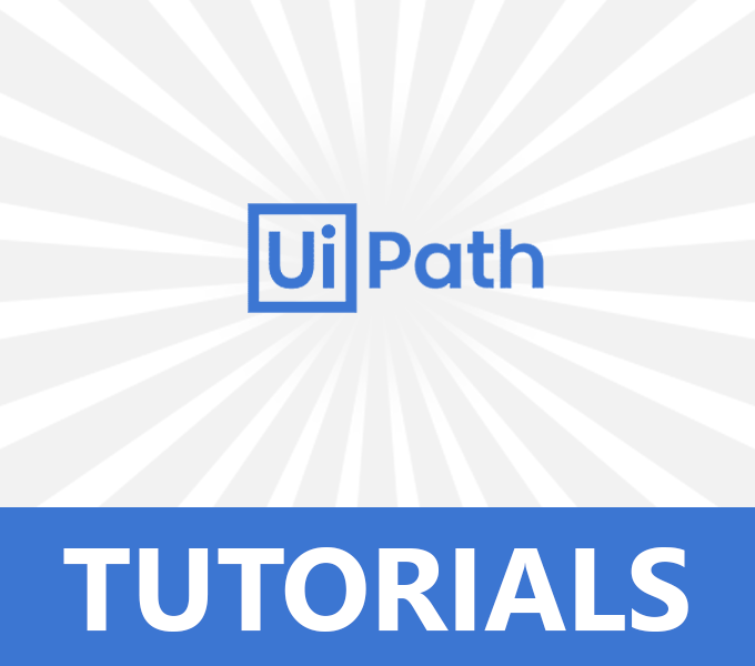 UiPath Tutorials