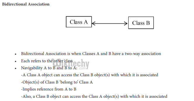 learn c# - c# tutorial - c# bidirection association in csharp - c# examples -  c# programs